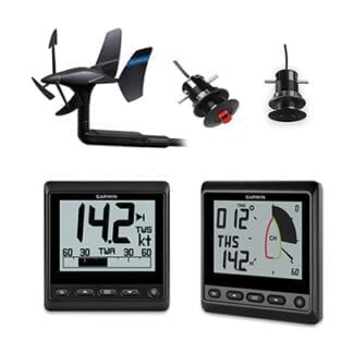 Instrumentpaket Garmin GNX Wireless SailPack TH43