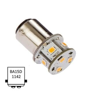 LED NauticLED BA15D Tower 10-35V 1,4W 2700K