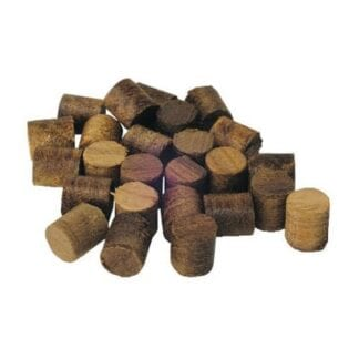 Teakplugg 10 mm 100-pack