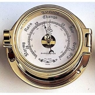 Barometer mässing 85mm